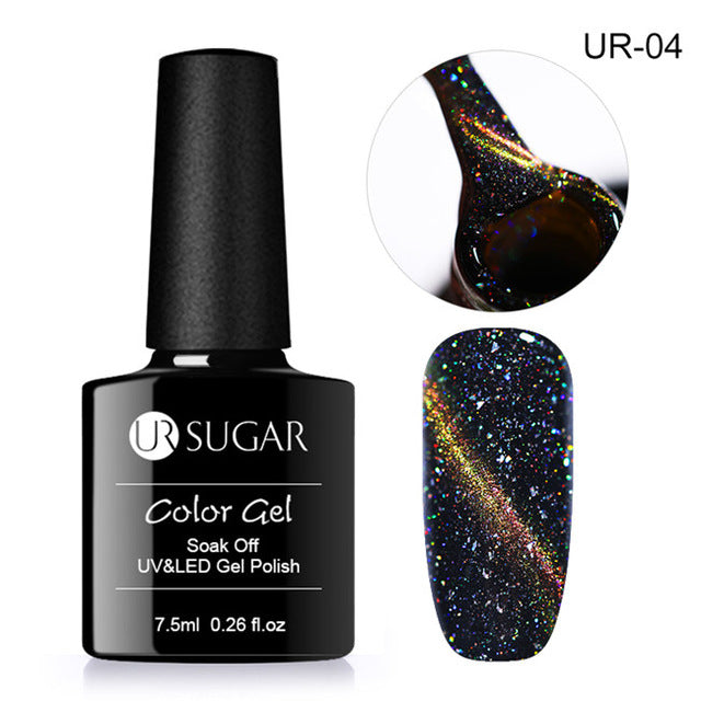 Holographic Glitter Magnetic Gel