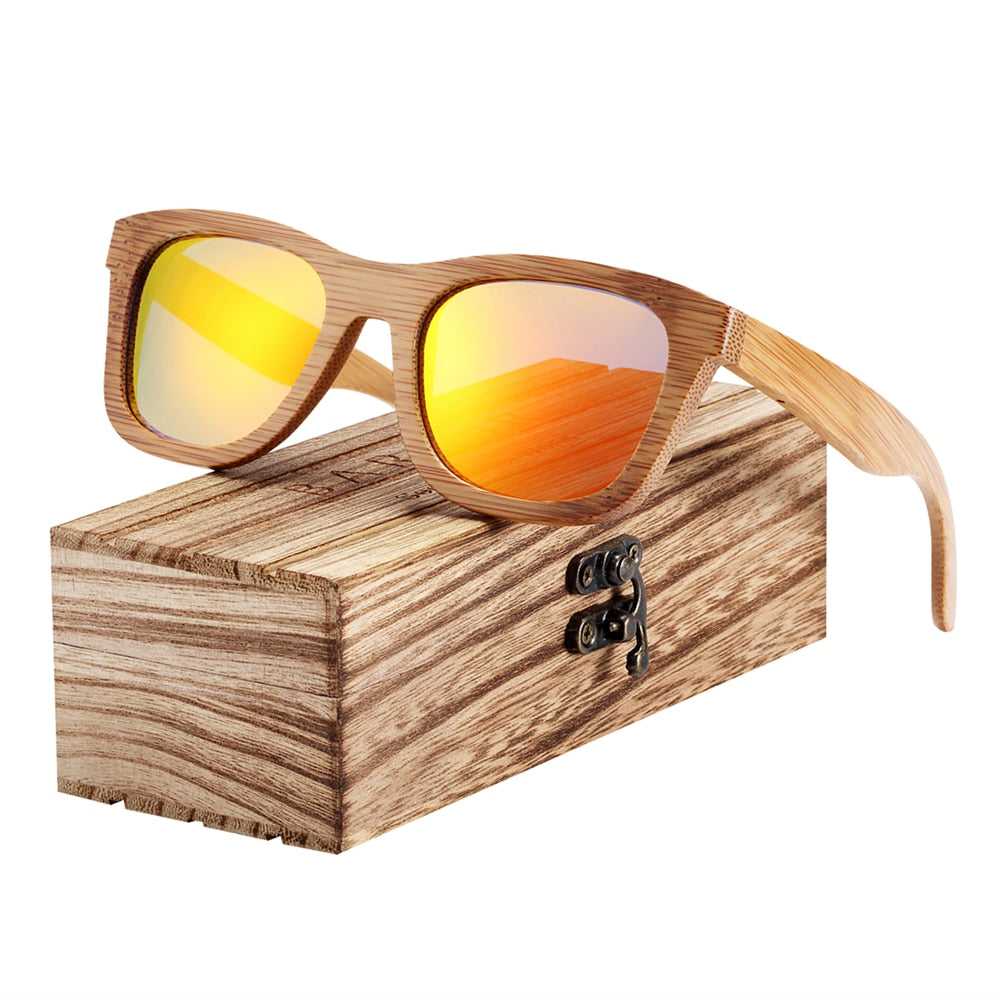 Bamboo Sunglasses Retro
