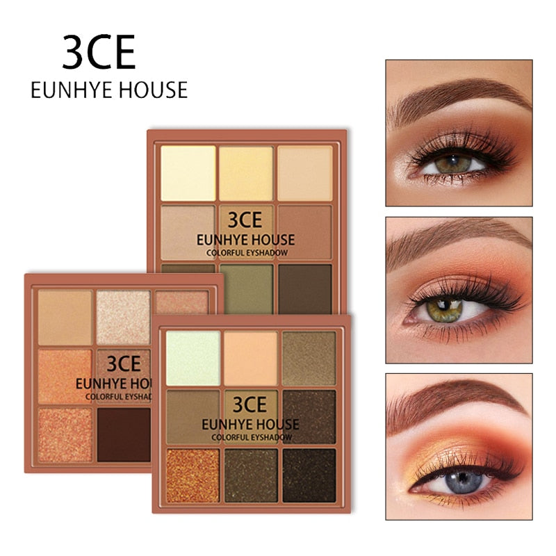 Charming Eyeshadow 9 Color Palette Make up