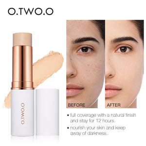 Face Foundation Stick Makeup Matte Effect 6 Color Waterproof Long Lasting Concealer Face Contour Cosmetic