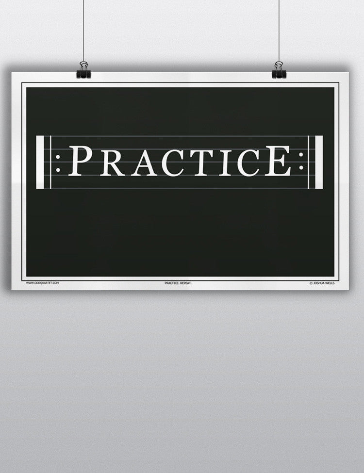 Practice Repeat Poster