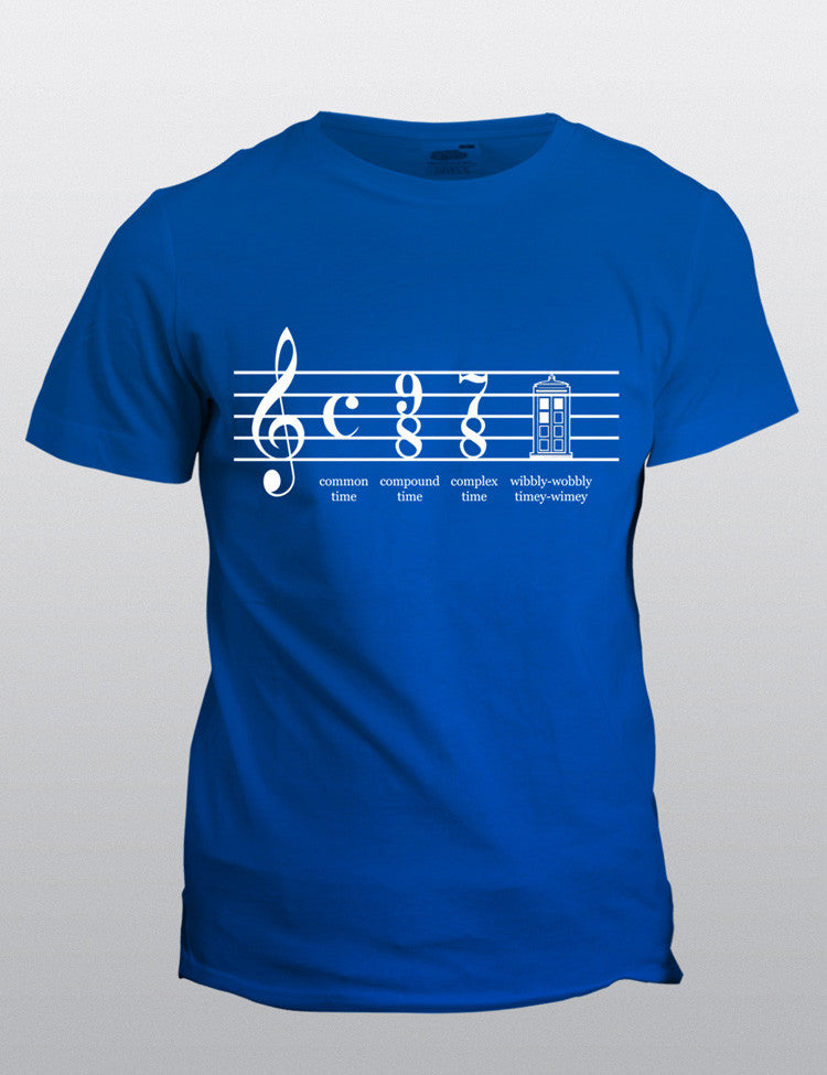 Doctor Who Time Signature tee