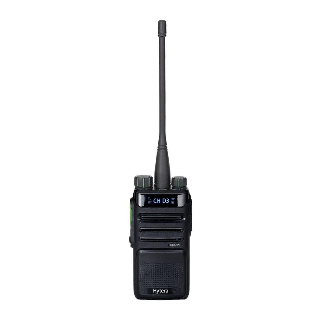 Hytera BD552i-BT-U1 Portable Digital Two-Way Radio with Built-In Bluetooth (UHF)