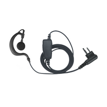 Load image into Gallery viewer, EH1W Ear Hook 1-Wire Earpiece with Inline PTT and Microphone