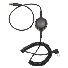 Load image into Gallery viewer, HS5-CAB Detachable Heavy Duty Coil Headset Cable with Inline PTT for HS1, HS3, HS3G, HS5, HS7, and HS9 Headsets