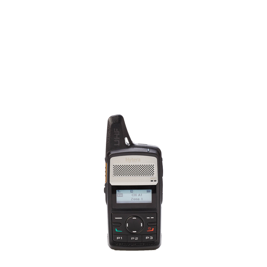 Hytera PD362i-Uc Compact Portable Digital Two-Way Radio (UHF)