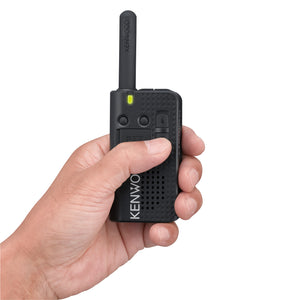 Kenwood PKT-23 ProTalk License-Free Ultra Compact Pocket-Sized Walkie-Talkie Portable Two-Way Radio (UHF)