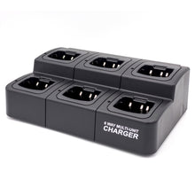 Load image into Gallery viewer, RadioManUSA RM-CHG6-700 6-Way Multi-Unit Charger for RMP-700