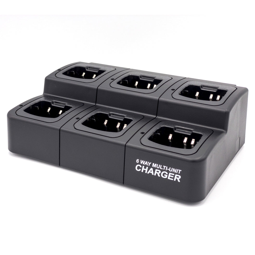 RadioManUSA RM-CHG6-700 6-Way Multi-Unit Charger for RMP-700