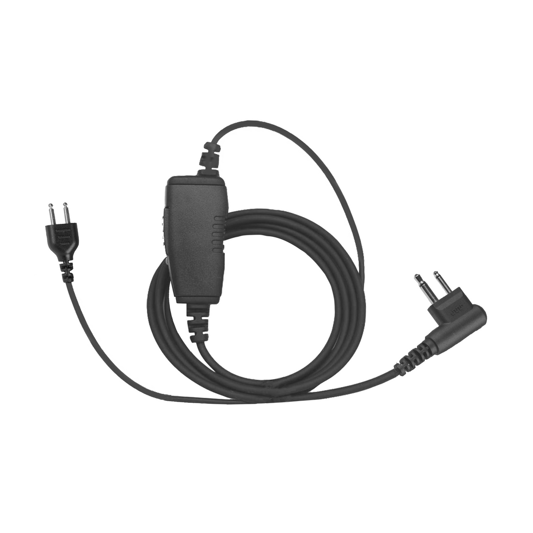 SnapLock SL1W 1-Wire System with Inline PTT / Microphone (SnapLock Earpiece Sold Separately)