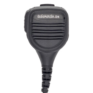 RadioManUSA SM07A Speaker Microphone with 3.5mm Accessory Jack for RMP-700 Portable PoC Two-Way Radio