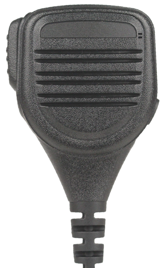 SM6 Compact Heavy Duty IP55 Rated Water-Resistant and Dust-Resistant Speaker Microphone and 3.5mm Accessory Jack