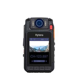 Hytera VM682 Bluetooth Speaker Microphone and 64GB Video Bodycam