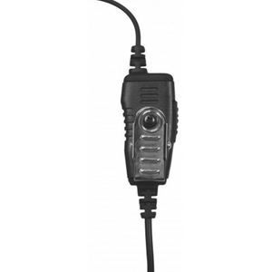 Bundle of (6) Kenwood PKT-23 Two-Way Radio and (6) Voceon AT1W Acoustic Tube Earpiece with Push-to-Talk Microphone