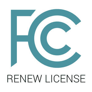 Standard Use: Renew your existing FCC-licensed frequencies
