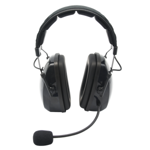 HS9 Heavy Duty Over-the-Head Dual Muff Lightweight Headset with Noise-Canceling Flex Boom Mic and Padded Headband (Headset Only)
