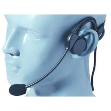 Load image into Gallery viewer, HSBHD Heavy Duty Lightweight Behind-the-Head Headset with Boom Mic and Inline PTT