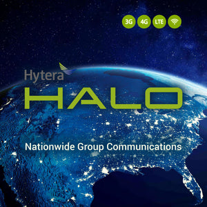 Hytera HALO - Nationwide Group Communications for Push-to-Talk over Cellular (PoC) Voice with Video Streaming and Archiving - Single Device Monthly Service Plan