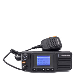 RadioManUSA RMM-750 Mobile or Desktop Base Station Push-to-Talk over Cellular (PoC) Two-Way Radio with GPS and Nationwide 4G/LTE Coverage