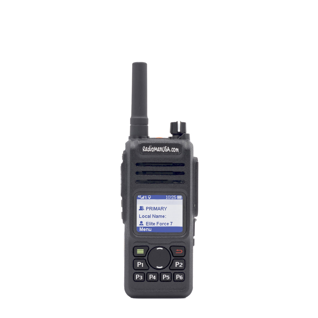RadioManUSA RMP-700 Portable Push-to-Talk over Cellular Two-Way Radio with GPS and Nationwide 4G/LTE Coverage