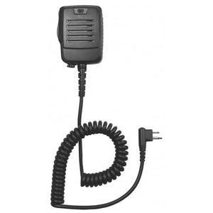 SM4 Full-Sized Heavy Duty IP55 Rated Water-Resistant and Dust-Resistant Speaker Microphone with 3.5mm Accessory Jack