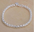 925 Sterling Silver Charm Chain Bracelet