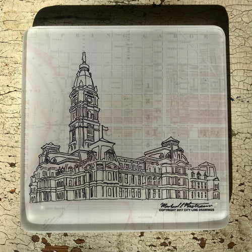 City Hall - Glass Coaster