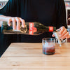 Noilly Prat Negroni How to Make Craft Tutorial On the rocks glass Iron Gate The modern home bar