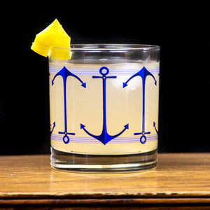 Anchors Aweigh |  Case of 12 ($7.75/glass wholesale)