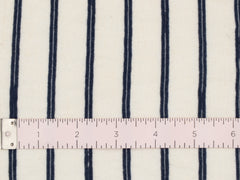 Vintage  Jersey Space Dye Navy Stripe- CLJ24-NV