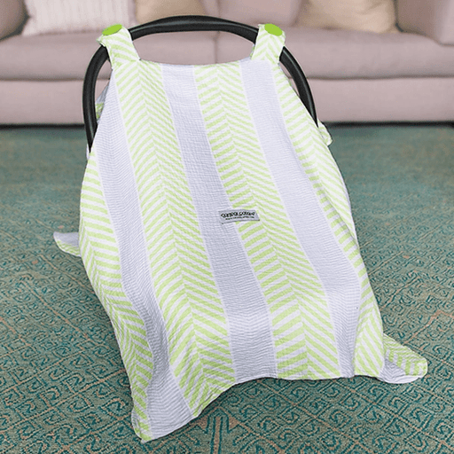 Muslin Car Seat Canopy Cover-Car Seat Cover-Kradle me
