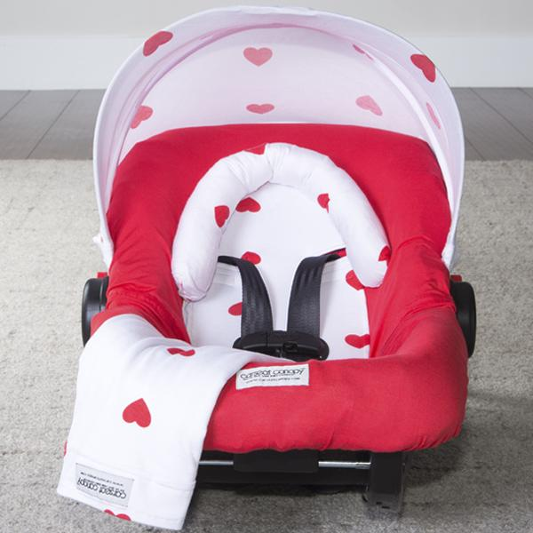 Jersey Stretch Car Seat | Caboodle Cover - Kradle Me