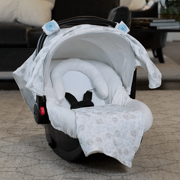 Muslin Car Seat Canopy Cover | Whole Caboodle - Kradle Me