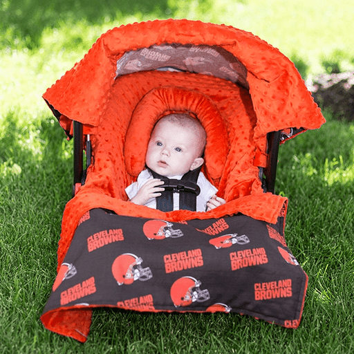 NFL Car Seat Canopy Cover | Whole Caboodle-Car Seat Cover-Kradle me