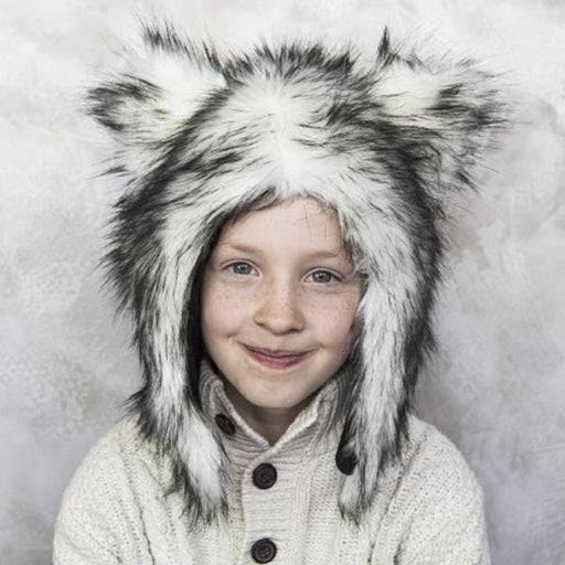 Eskimo kids Fur Hats-Hat-Kradle me