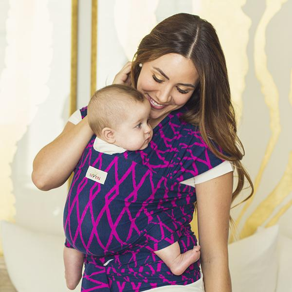 Comfortable and Soft Baby Wrap Carrier - Kradle Me