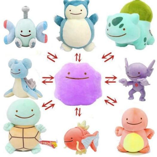 Reversible Anime Pocket Plush Animals - Kradle Me