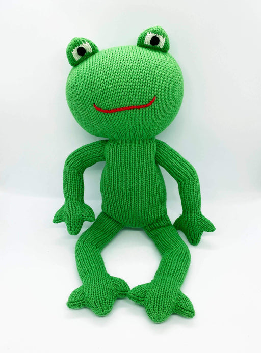 Frog Knit Doll | by Loralin Design - Kradle Me