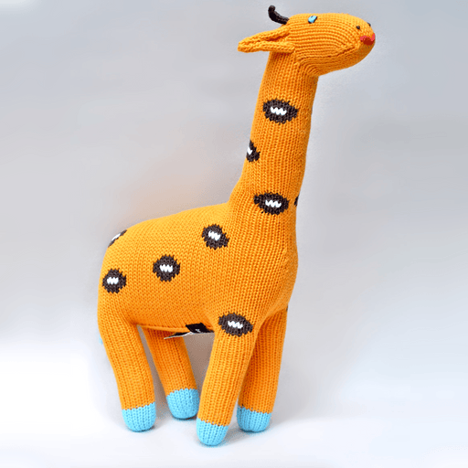 Giraffe  Knit Doll | by Loralin Design - Kradle Me