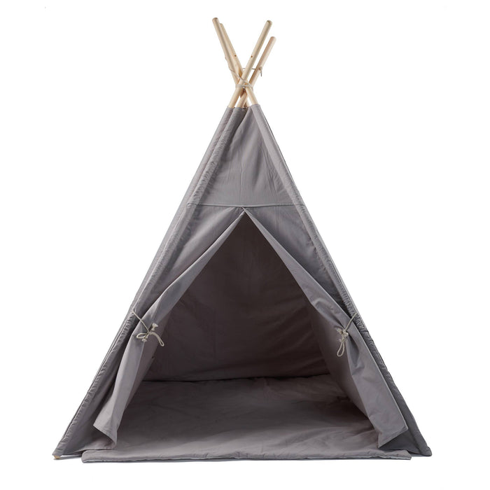 Kids Playhouse Teepee with Mat-Teepee-Kradle me