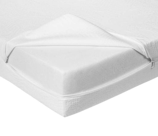 Bundle Of Dreams Organic White Cotton Crib Mattress Covers-Mattress Covers-Kradle me