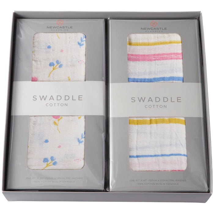 Newcastle Classics | Blanket and Swaddle Gift Box Set - Kradle Me