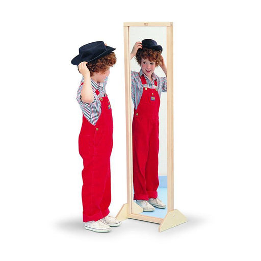 Vertical Or Horizontal Mirror | With Stand-Mirror-Kradle me