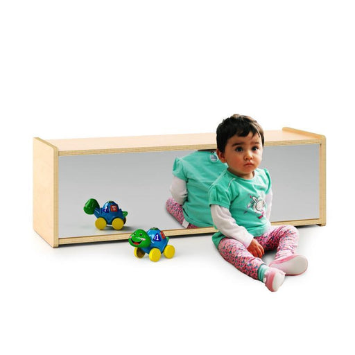 Infant Storage Shelf | With Mirror Back-Shelf-Kradle me