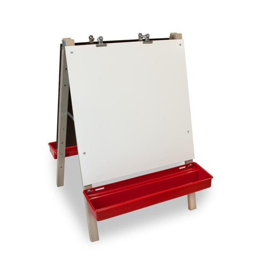Toddler Adjustable Easel | With Write and Wipe Panels-Easel-Kradle me