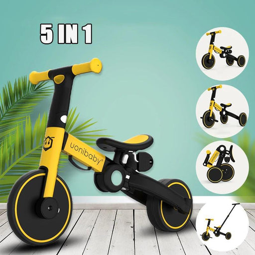 5-in-1 foldable performance balance bike for toddlers 1-6 years old - Kradle Me