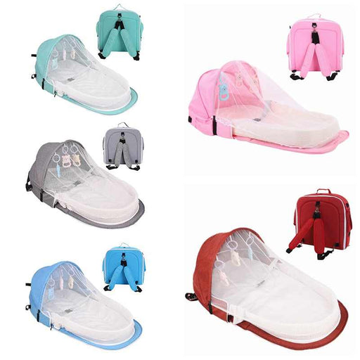 3-in-1 portable baby folding lounger - Kradle Me