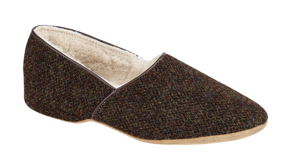 Lewis - Harris Tweed- Brown Barleycorn