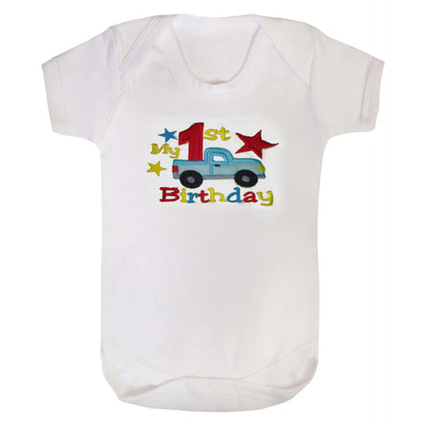 Birthday Truck bodysuit