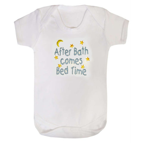 After Bath Comes Bedtime bodysuit
